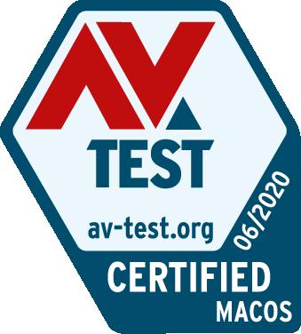 AV-Test Certified Award logo